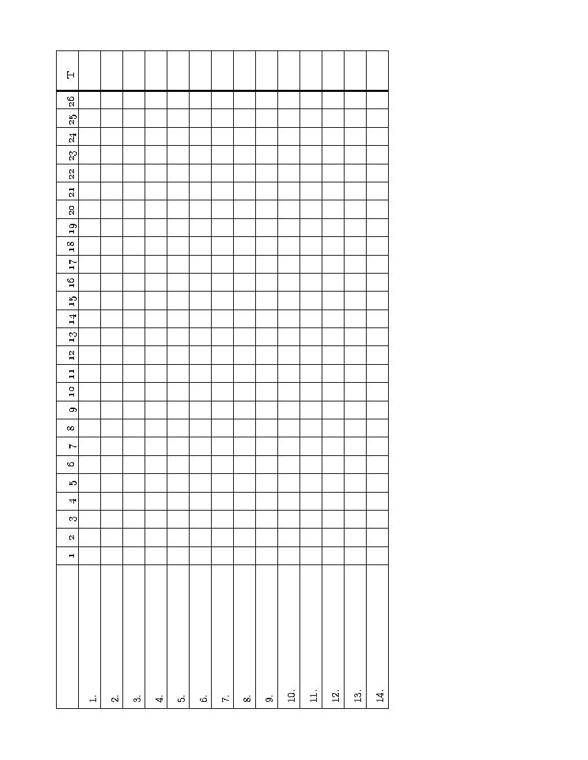 Duplicate Bridge – Bridge Score Sheet