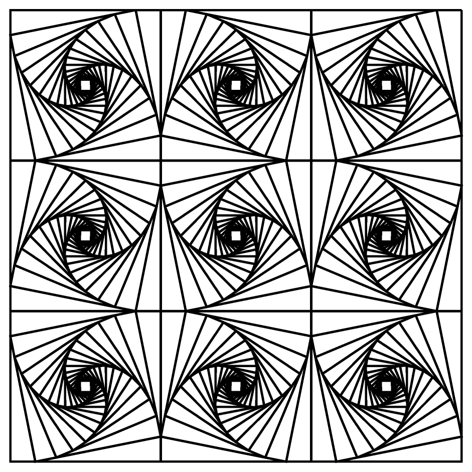 Free Coloring Pages Of Math Optical Illusion Optical Illusions Colouring Pages
